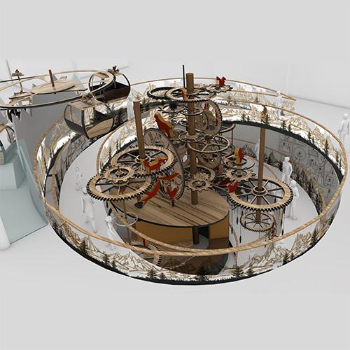 mecanica Jules Verne Gondelibahn